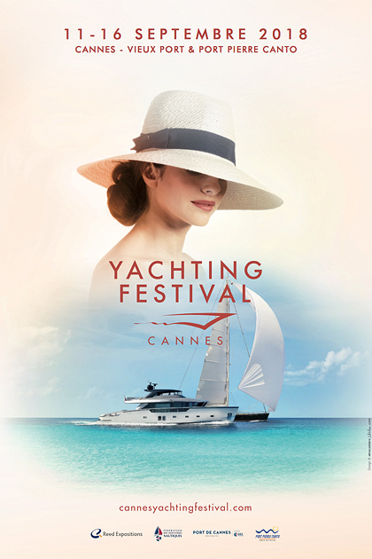 Cannes Yachting Festival affiche 2018