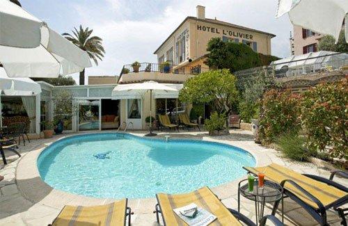 Villa de l'Olivier Hôtel 3 étoiles à Cannes