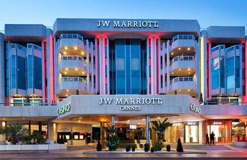 JW Marriott Hôtel 5 étoiles Centre de Cannes